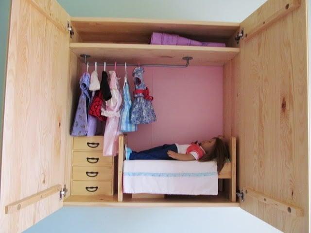Wall Mounted Doll Bedroom Ikea Hackers