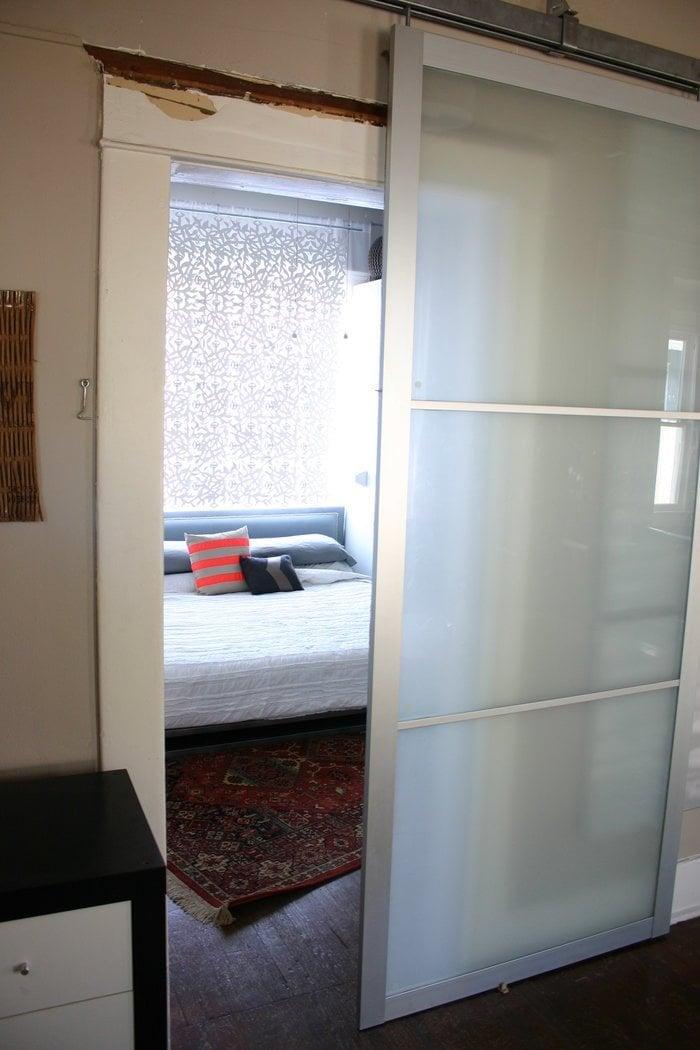 Pax Armoire Doors Get New Life As Barn Doors Ikea