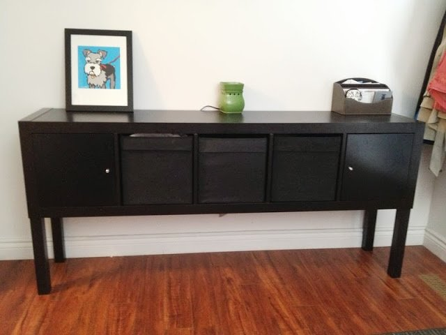expedit lack sideboard ikea hackers ikea hackers. Black Bedroom Furniture Sets. Home Design Ideas