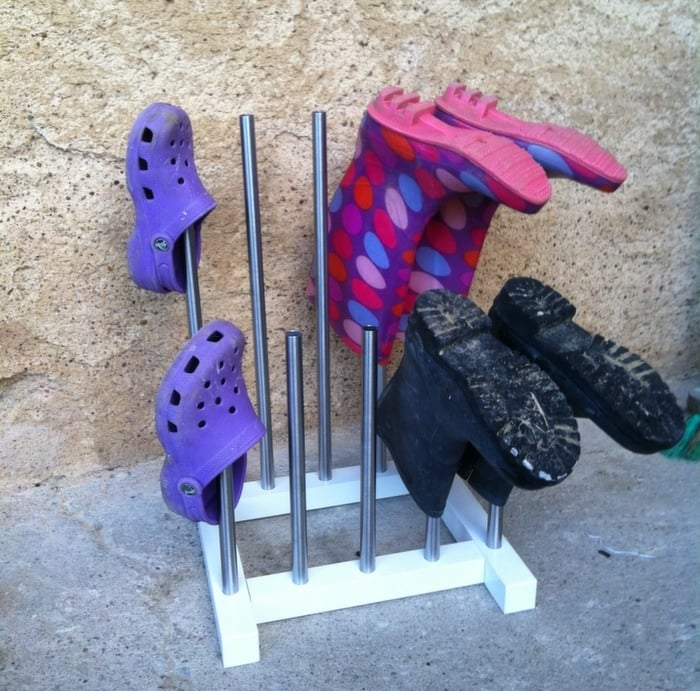 Miraculous Chopped Up Tjusig Welly Rack Ikea Hackers Dailytribune Chair Design For Home Dailytribuneorg