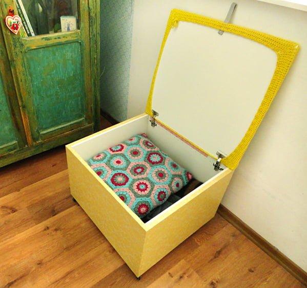 Besta storage footstool ikea hackers ikea hackers - Ikea hack storage ottoman ...