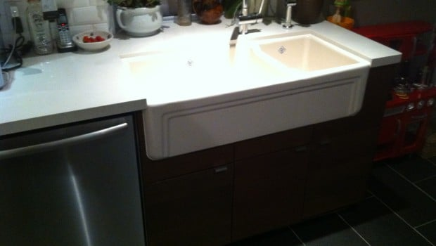 Farmhouse Sink Into Ikea Kitchen Cupboards Ikea Hackers