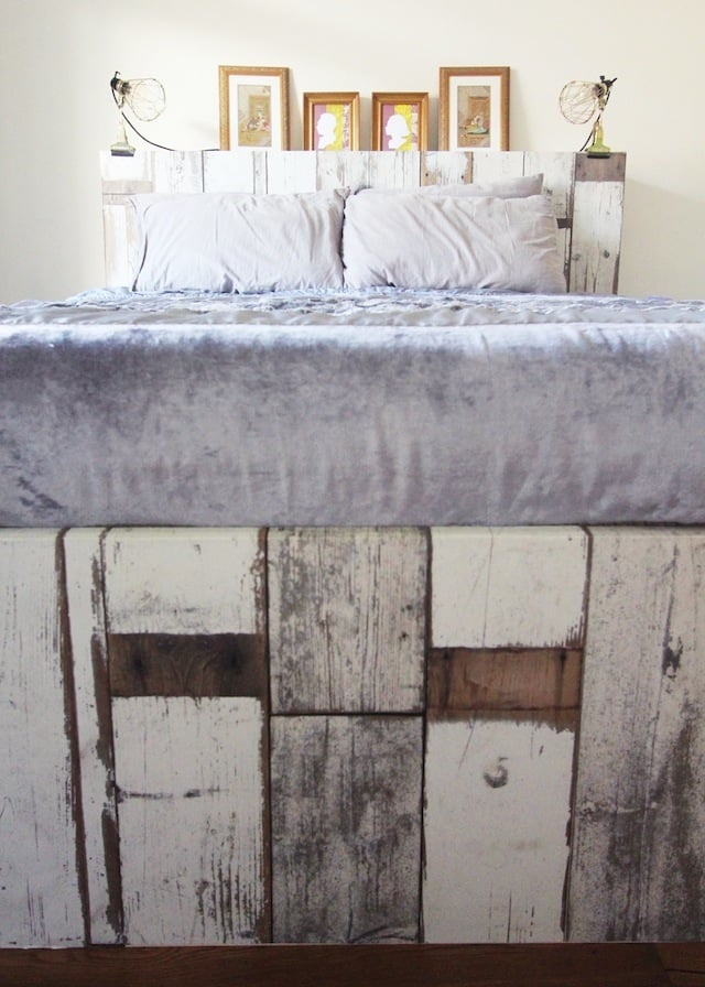 Easy makeover for the brimnes bed ikea hackers ikea Brimnes headboard hack