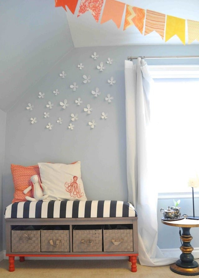 hemnes bridging wall shelf bench toy storage ikea hackers. Black Bedroom Furniture Sets. Home Design Ideas