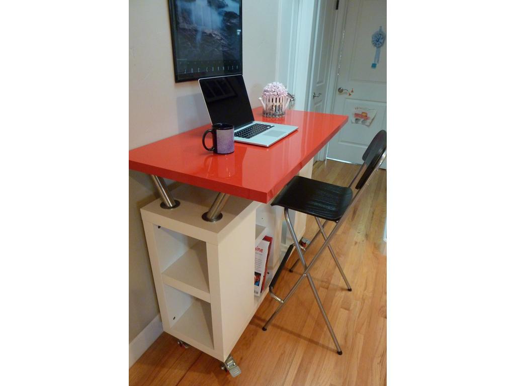 Standing Work Counter On Wheels Ikea Hackers