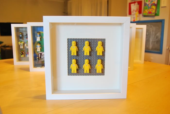 RIBBA-Lego-Minifig-Display-2x3-Yellow