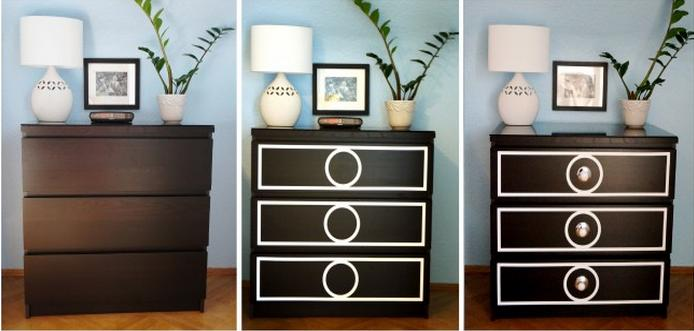 Malm dresser goes Hollywood Regency - IKEA Hackers - IKEA ...