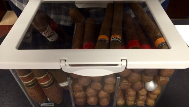 KRUS Filled with Many Cigars