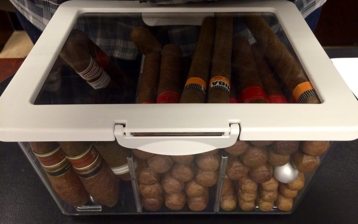Turn Krus Into A Fantastic Cigar Humidor Ikea Hackers