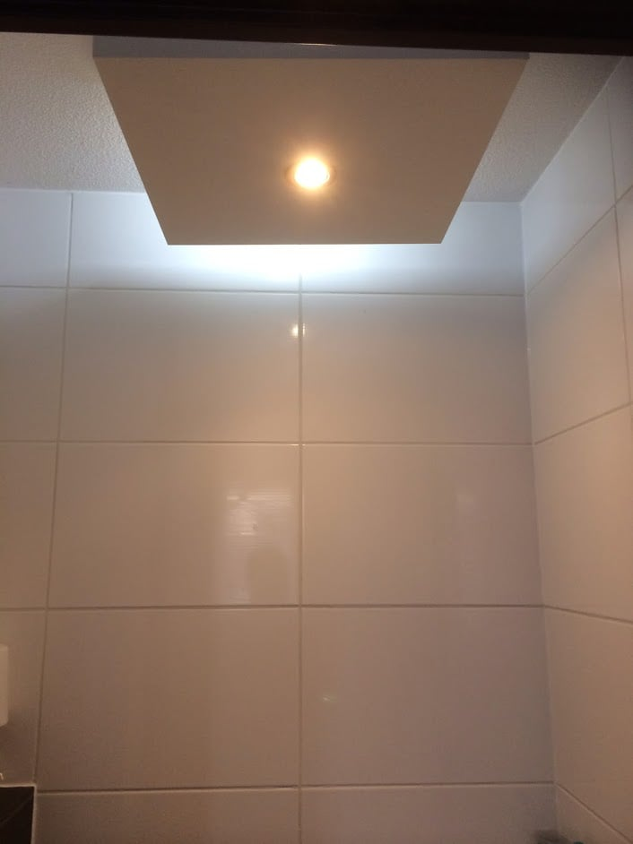 Toilet Lighting Industrial 20140317 3 Ikea Hackers Ikea Lack Table Led Light With Bluetooth Speaker In Toilet Ikea