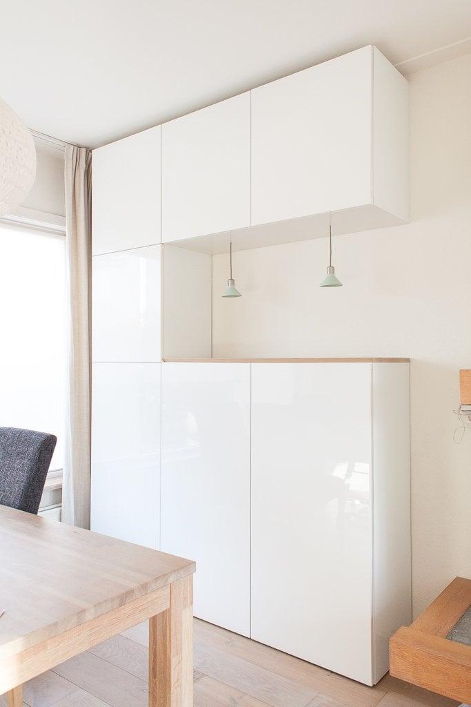 Upgrading Besta With Nordic Diy Design Lighting Glass