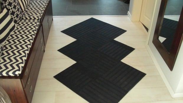 7 Teppich aus ikea Fußmatten im Flur