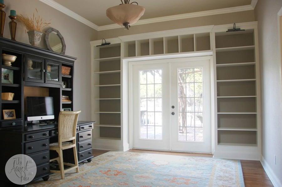 Diy Billy Bookcase Built Ins