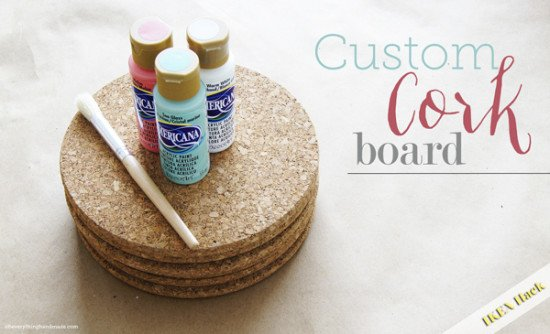 Cork Board for pinning
