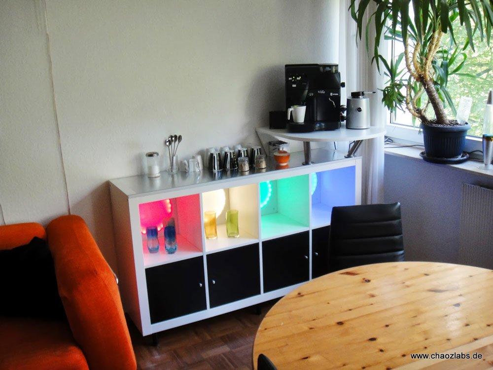 Expedit Coffee Bar Ikea Hackers