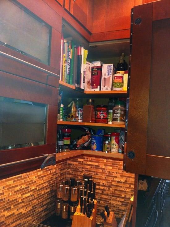 Kitchen Upper Corner Cabinet Ikea Hackers