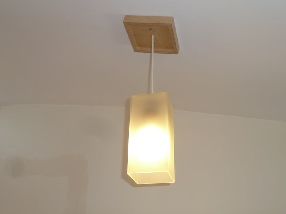 Wall Ceiling Corner Light : Table lamp to ceiling lamp - IKEA Hackers - IKEA Hackers