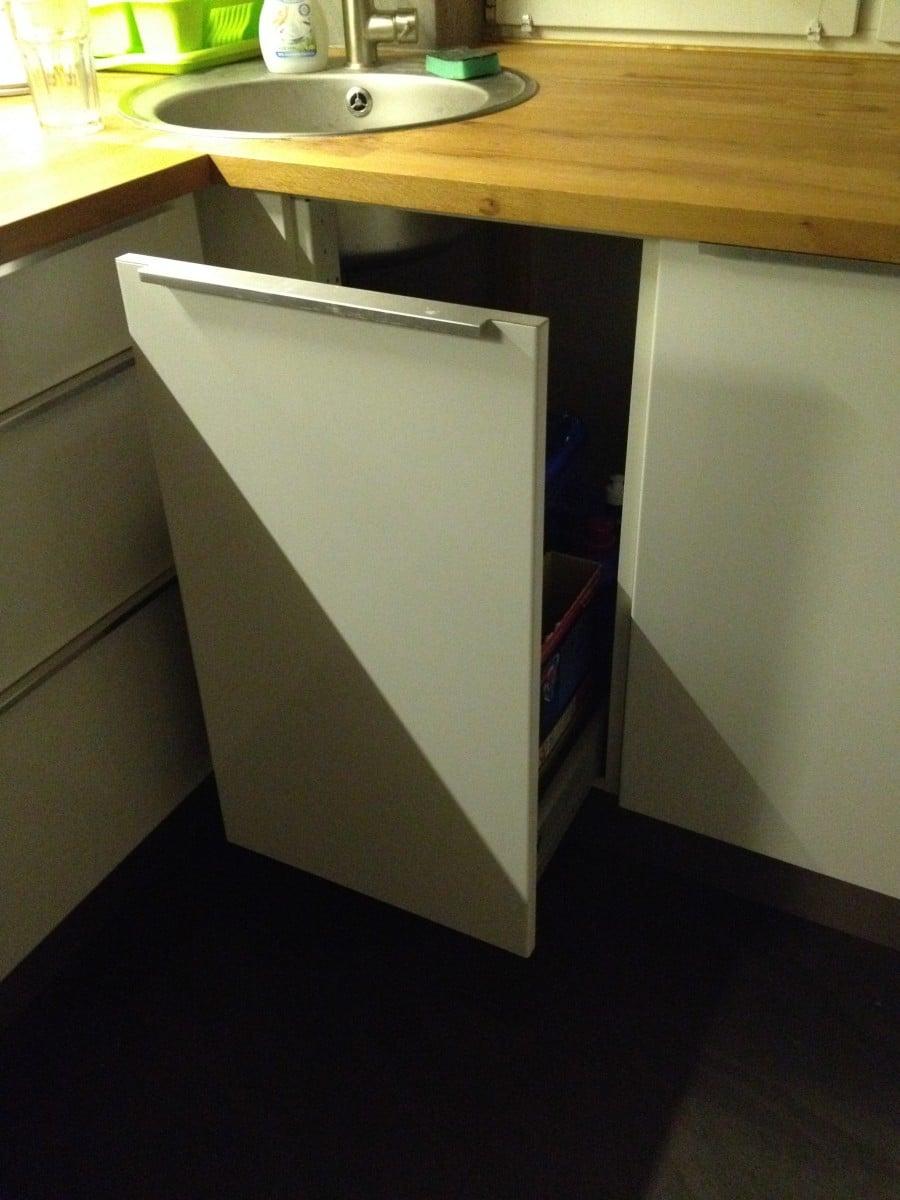 Faktum Corner Sink Cabinet Ikea Hackers