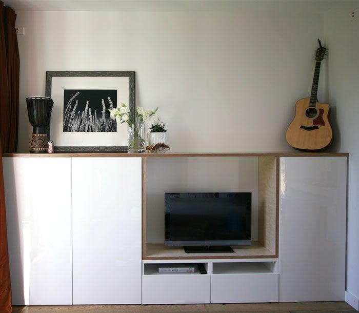 Besta Plywood Playroom Storage Hack Ikea Hackers