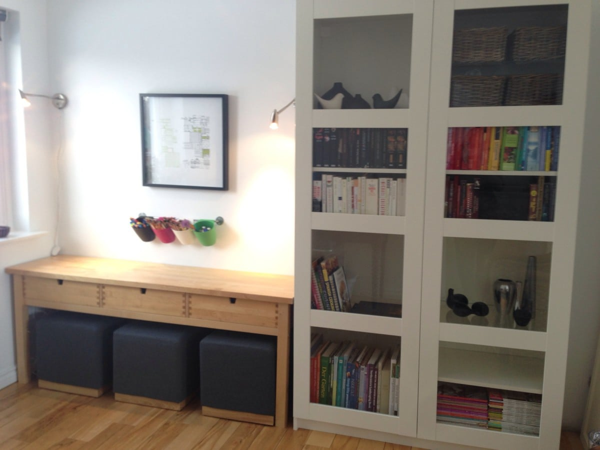 norden sofa table turned kids 39 creativity centre ikea hackers ikea hackers. Black Bedroom Furniture Sets. Home Design Ideas