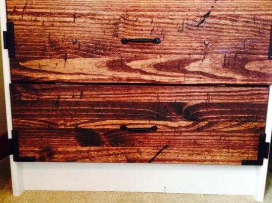 RAST: Rustic Modern Update To Bedside Tables
