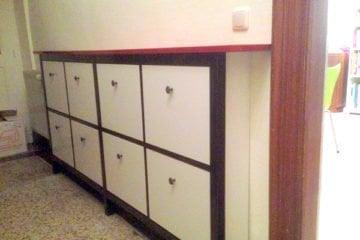 twin hemnes shoe cabinet