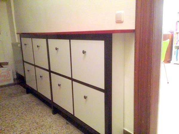 twin hemnes shoe cabinet hack