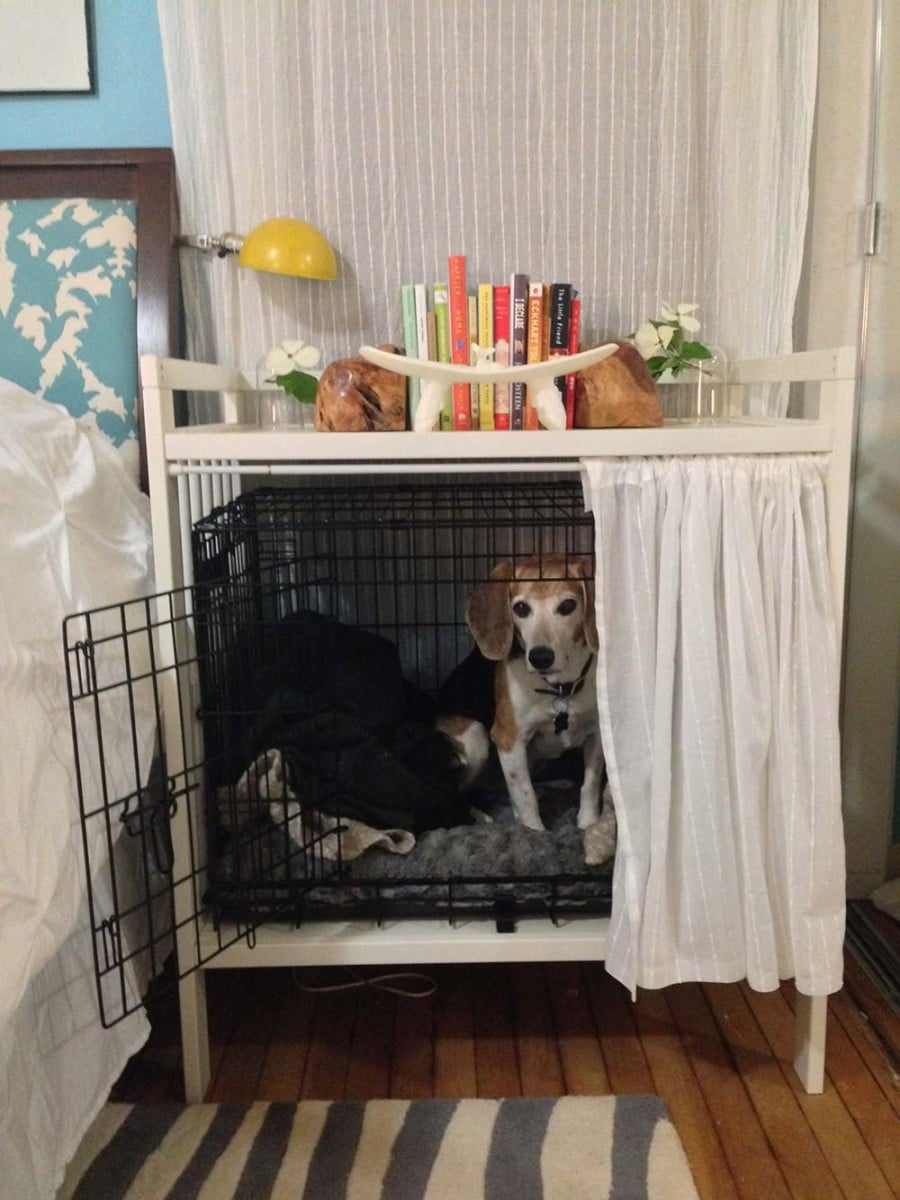 Dog Kennel Curtains