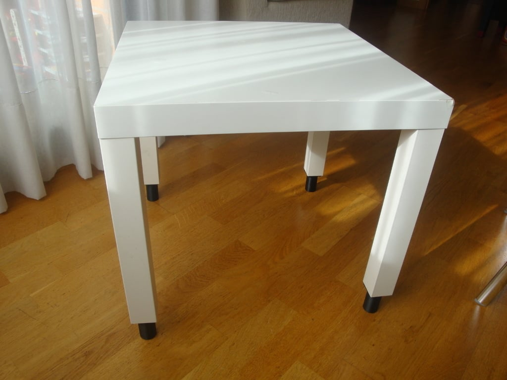 lack table feet ikea hackers ikea hackers. Black Bedroom Furniture Sets. Home Design Ideas