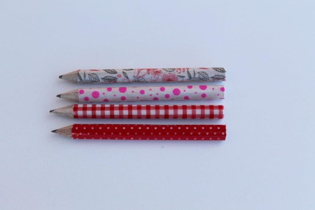 Ikea pencils customised with washi tape ikea hackers for Cassette ikea