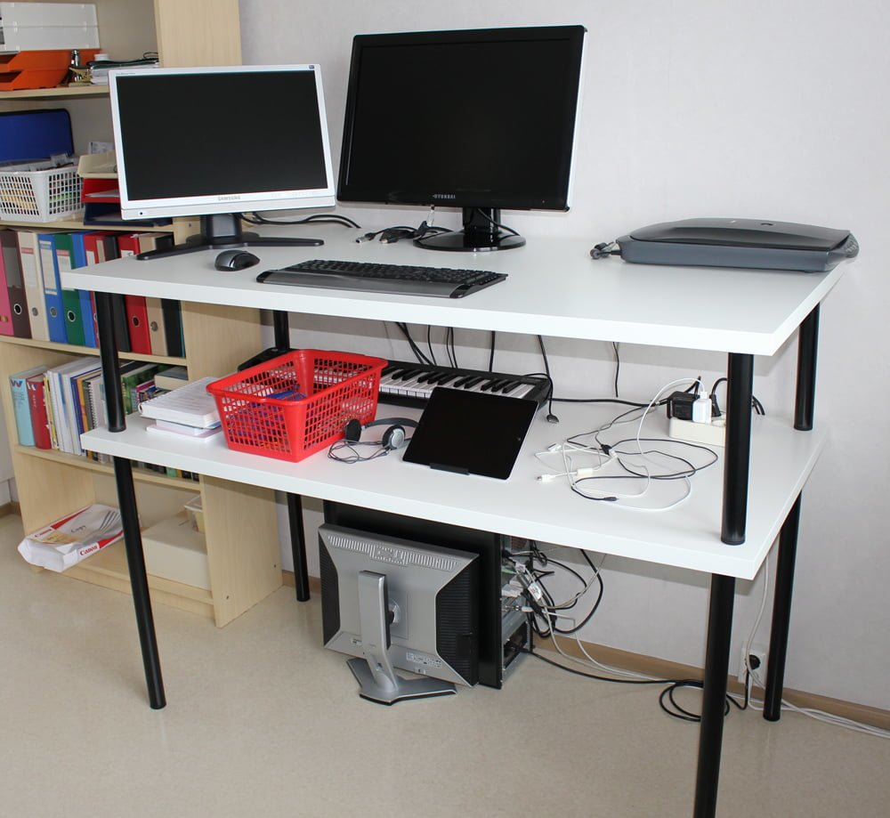 linnmon adils standing desk ikea hackers. Black Bedroom Furniture Sets. Home Design Ideas