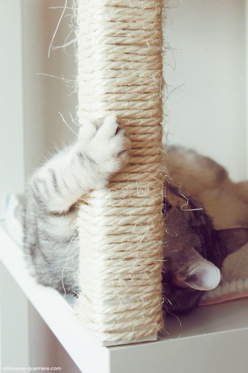 cat tree with ikea lack ikea hackers ikea hackers. Black Bedroom Furniture Sets. Home Design Ideas