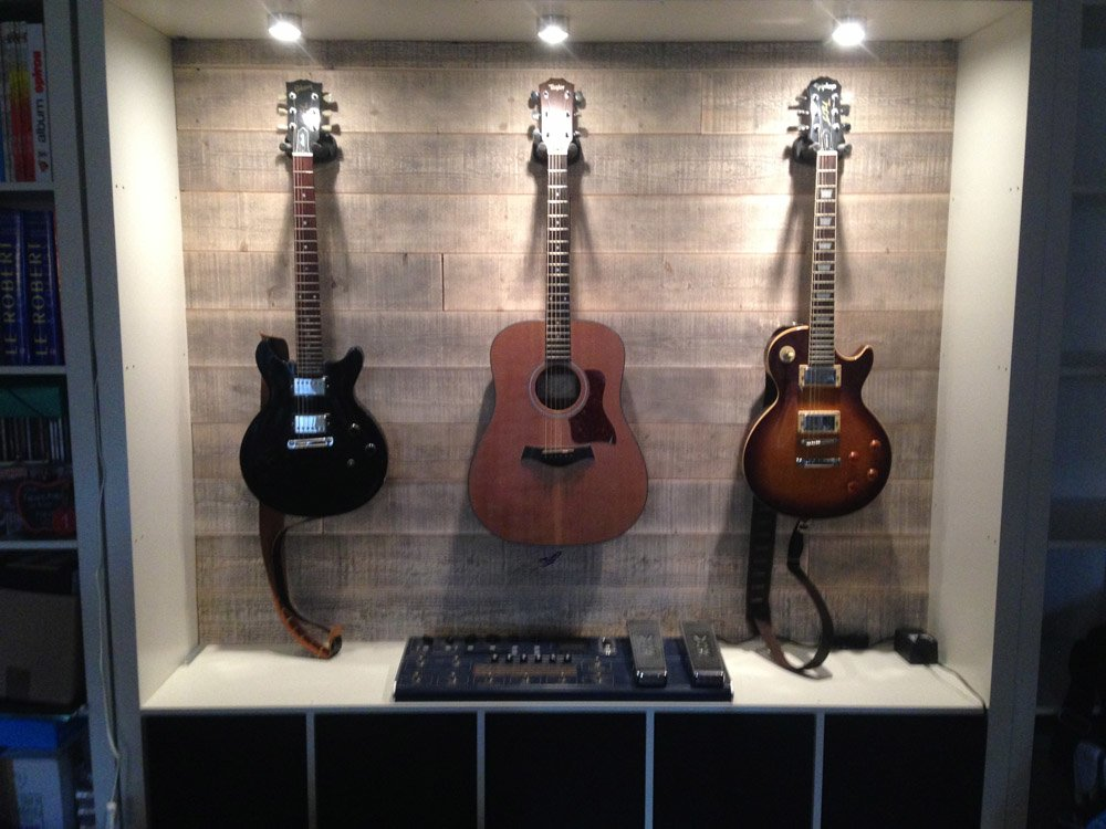 EXPEDIT Guitar Display - IKEA Hackers - IKEA Hackers