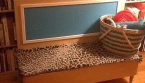 ikeahack- dog bench