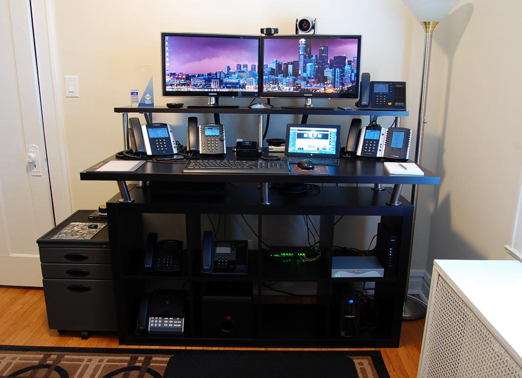 Home Office Standing Desk IKEA Hackers IKEA Hackers