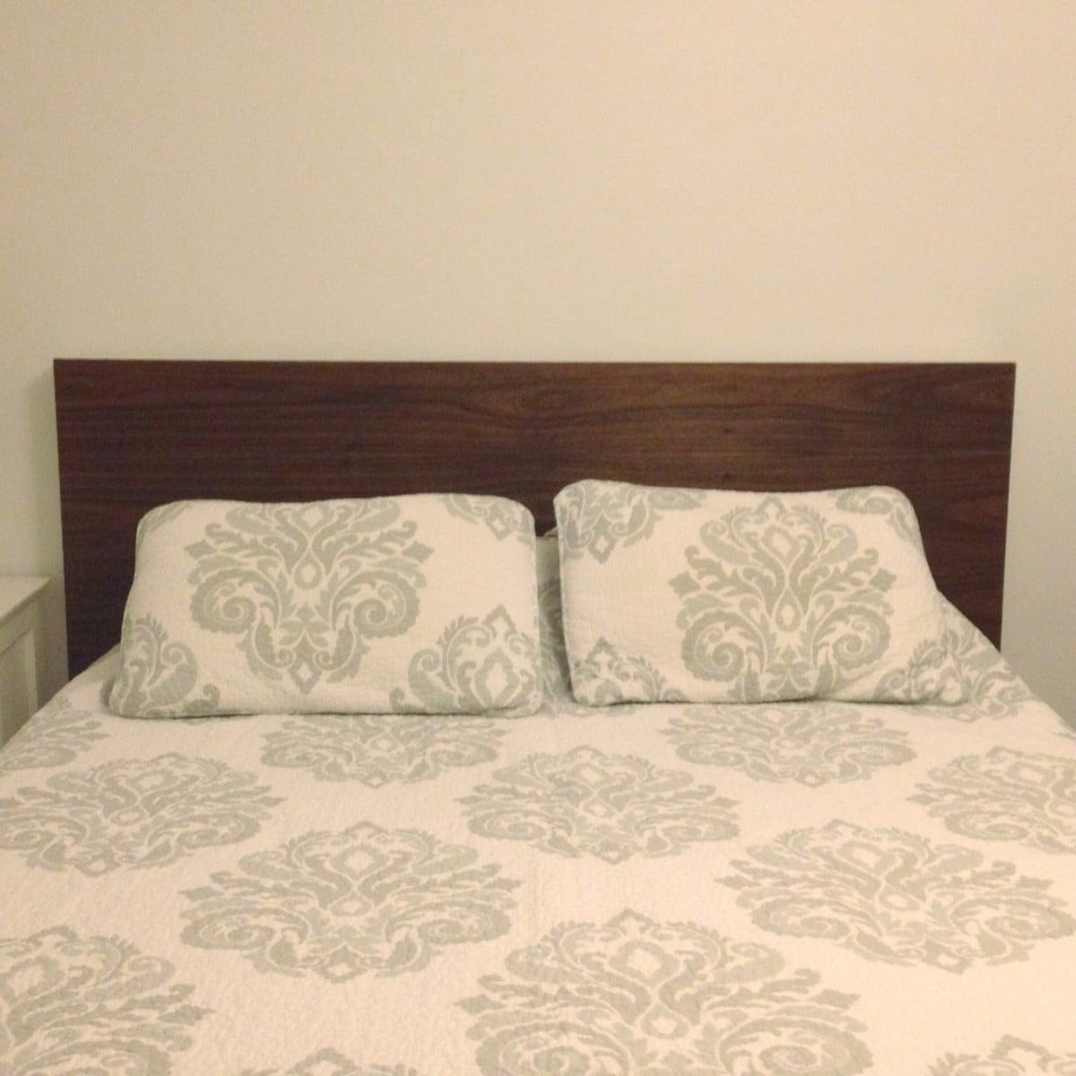 walnut trondheim case study bed ikea hackers. Black Bedroom Furniture Sets. Home Design Ideas