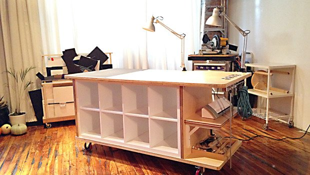 Bedroom Shelf Divider