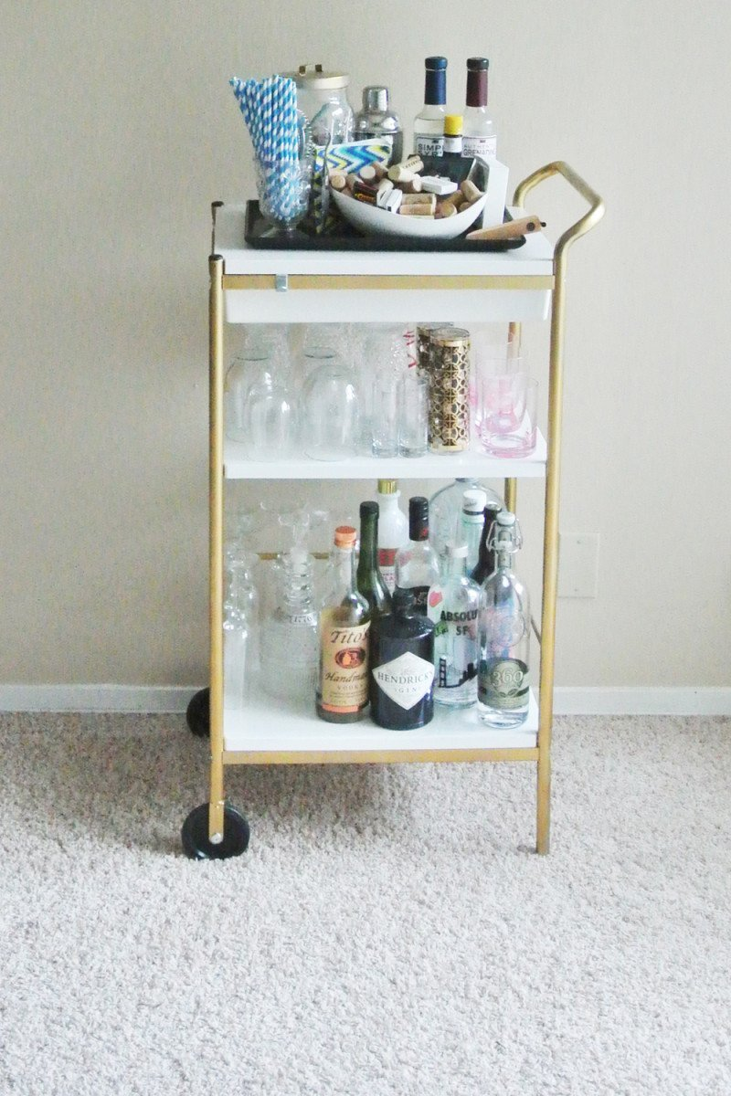 Bygel Utility Bar Cart IKEA Hackers