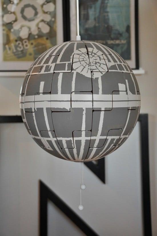 IKEA PS lamp Death Star