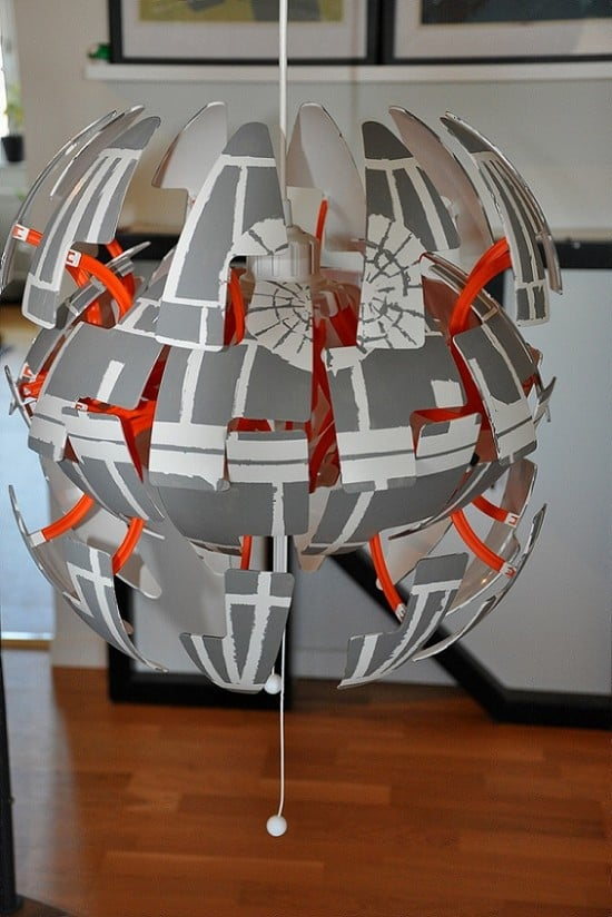 IKEA PS lamp Death Star