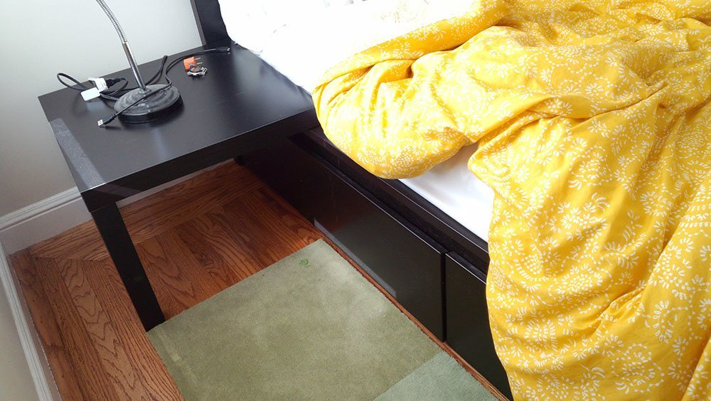 Got a malm bed with drawers want easy nightstands ikea hackers ikea hackers - Malm bed with nightstands ...