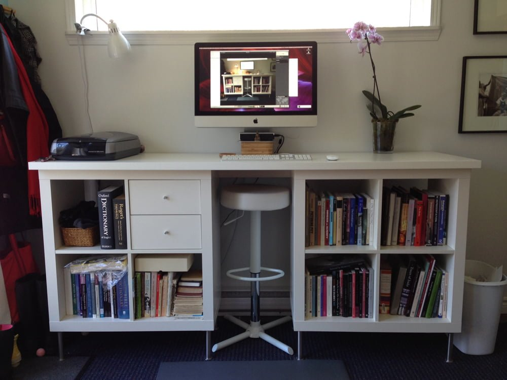 EXPEDIT Standing Desk Under 200 IKEA Hackers