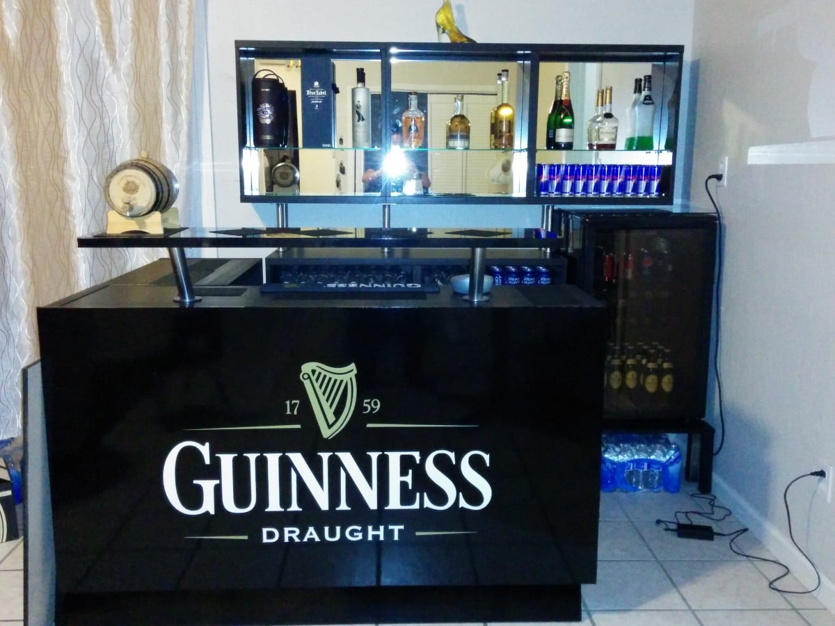 Guinness theme bar ikea hackers Home bar furniture ikea