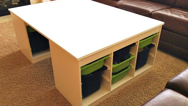LEGO-Table-IKEA-Hack