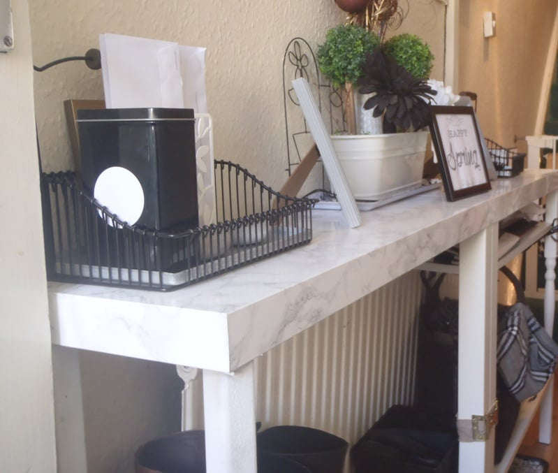 Lacking A Console Table Ikea Hackers