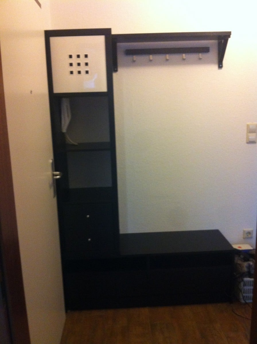 entrance wardrobe ikea hackers. Black Bedroom Furniture Sets. Home Design Ideas