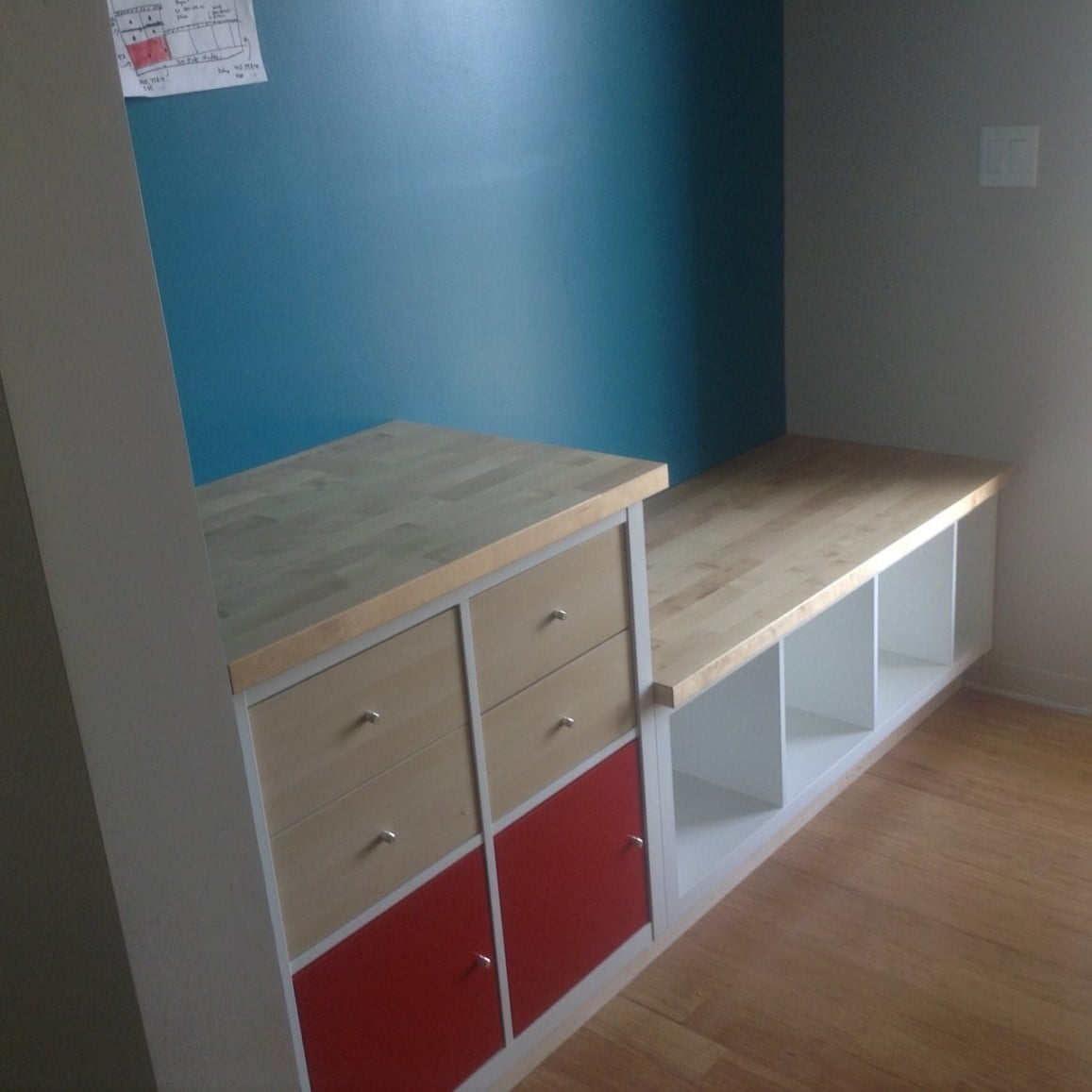 KALLAX Mudroom IKEA Hackers