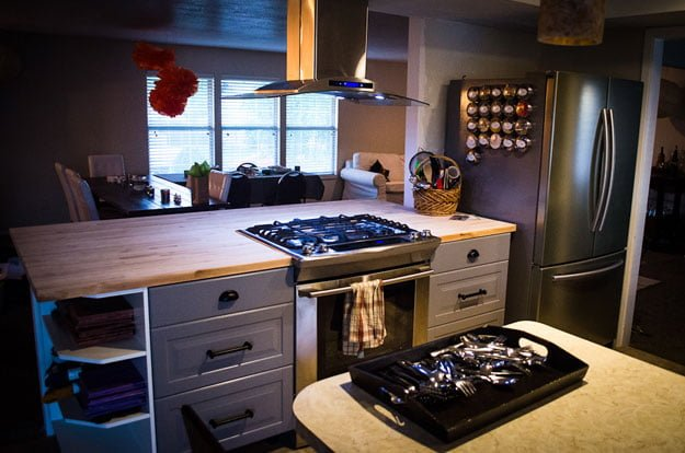 Affordable ikea numerar kitchen island ikea hackers - Ilot central avec evier et plaque de cuisson ...