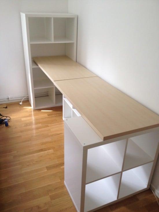 KALLAX desk ideas