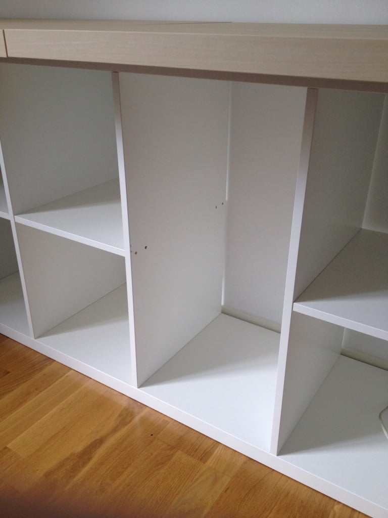 removed one shelf